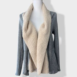 🖤 maurices | Sherpa Open Front Cardigan